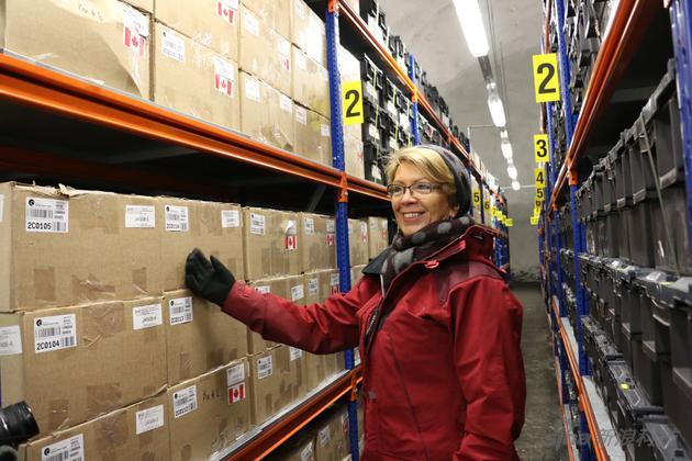 运营管理末日种子库的全球作物多样性信托基金负责人Maria Haga