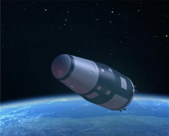 图1 实践十号卫星在轨模拟图