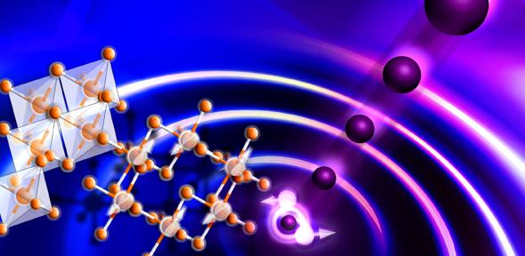 带有中子的蜂巢晶格上的自旋液态的激发过程。