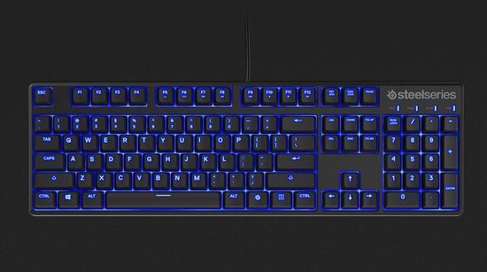 赛睿发布apex m500电竞机械背光键盘|赛睿|机械键盘图片