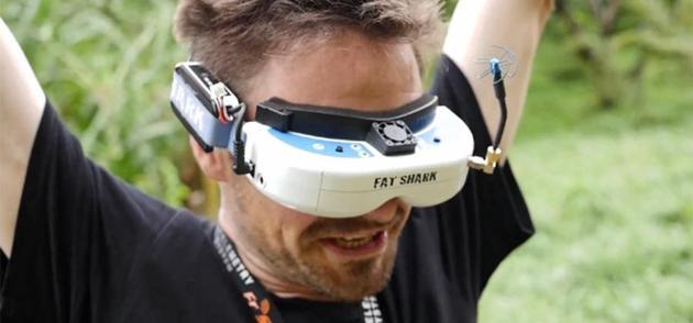 ESPN将转播无人机竞赛:选手用VR操控无人机