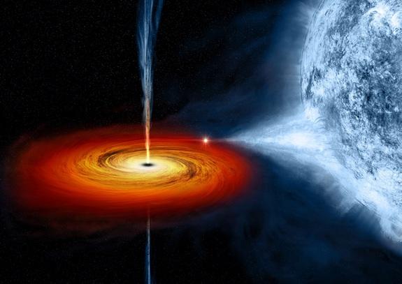 黑洞能带我们前往另一个世界吗?这并不是好主意