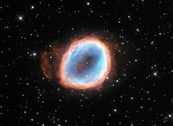 行星状星云NGC 6565,这是一颗恒星死亡后的裹尸布
