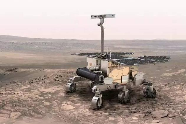 ExoMars火星车将在2019年登陆火星,预计在火星全球沙尘暴季节结束后到达