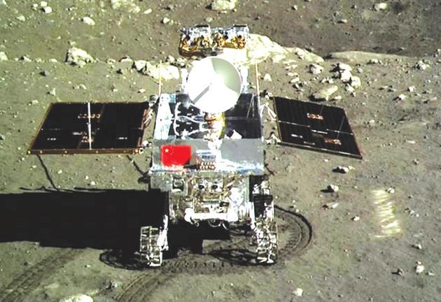 图7 嫦娥三号任务的玉兔号月球车