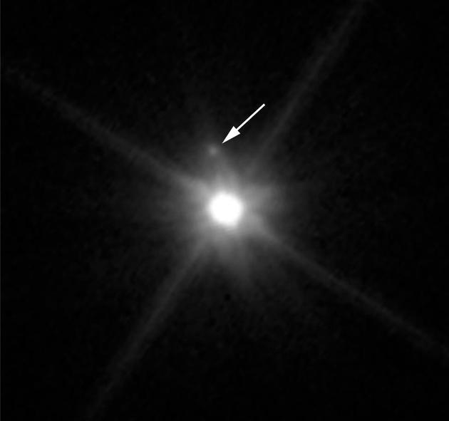 哈勃望远镜发现鸟神星卫星:直径160公里亮度要暗1300倍