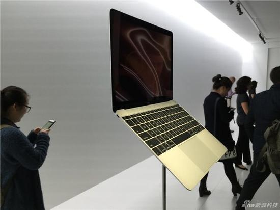 去年发布之初 新MacBook的轻薄令人印象深刻