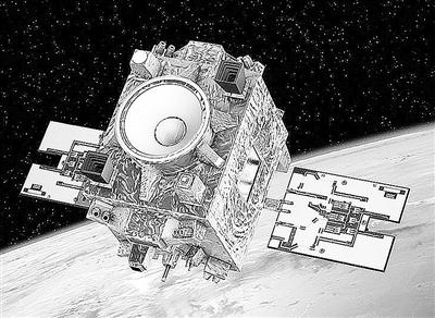 """""""显微镜""""卫星效果图"""