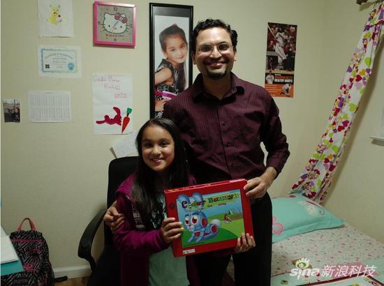 8岁的硅谷女孩莎麦拉开发了融汇编程理念的游戏