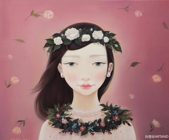 前新浪微博产品经理刘强希望有一条互联网渠道给妻子孙莹一样的艺术家