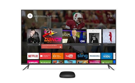 美国版小米盒子搭载Android TV系统