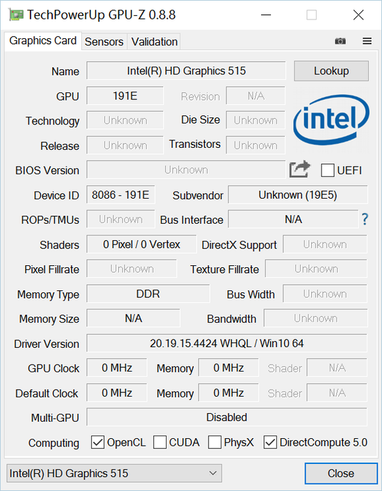GPU信息