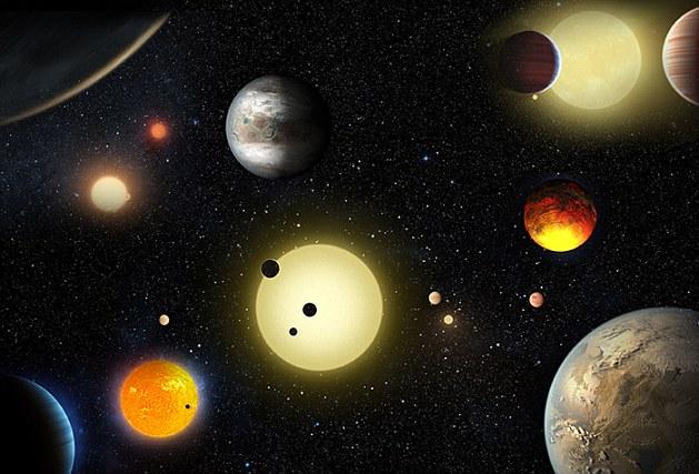 近期,開普勒太空望遠鏡發現了1284個系外行星。