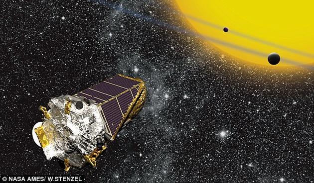 開普勒太空望遠鏡發射於2009年3月。