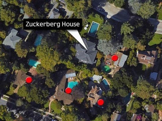 """扎克伯格要改造邻居""""豪宅群""""防偷窥:价值近两亿"""