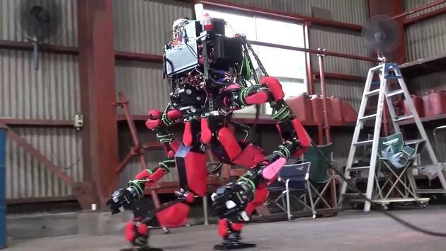 Schaft曾展示过的机器人(图片来自网络)