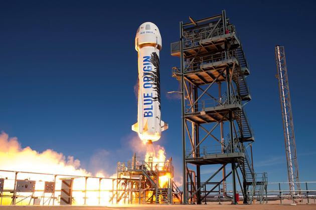 蓝色起源宣布2019年4月运送首批太空旅客