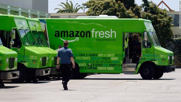 亚马逊在英国推出生鲜快递服务:试水欧洲市场