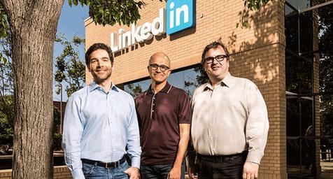 微软262亿美元收购LinkedIn
