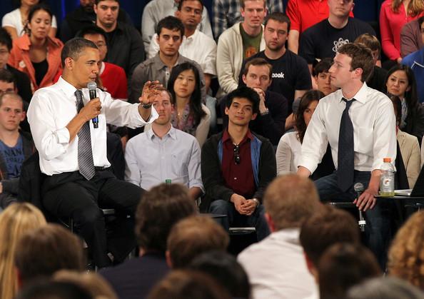 小扎约奥巴马周五一块聊科技 而且还要在Facebook上直播