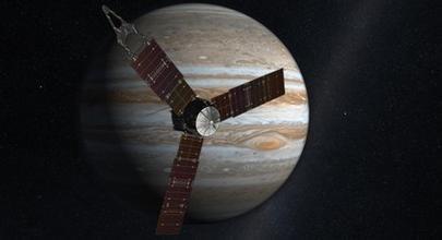 朱诺号探测器将于7月初进入木星轨道 (新浪科技配图)