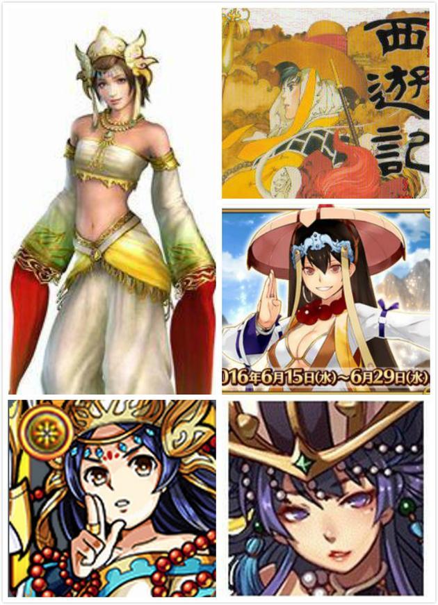 各种游戏和设定中的三藏法师形象