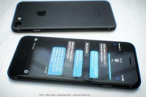 如果这就是传说中的深空黑iPhone 7 你觉得如何?