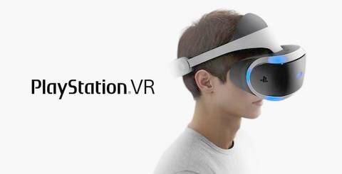 图为索尼PlayStation VR