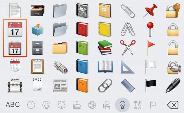 天天发着 Emoji,你知道它们是怎么来的么?图片 第2张