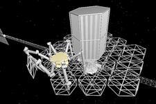 太空望远镜建造新理念:机器人自动组装和维护