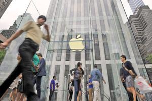 中国失去苹果全球第二大市场称号 在华收入下滑至88亿美元