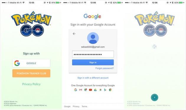 """当心! Pokemon Go可能会""""抓取""""你的个人信息"""