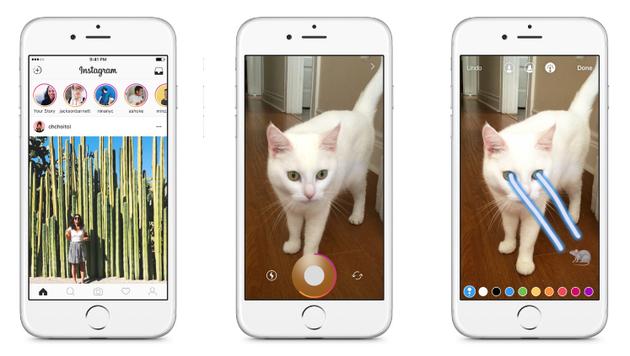 """当了四年""""抄袭狗"""" Facebook依然搞不定Snapchat"""