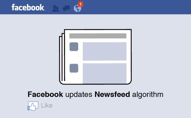 """""""标题党""""太多:Facebook将打击消息流中骗点击行为图片"""