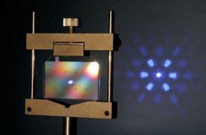 通过衍射光栅实现光场的重新分布