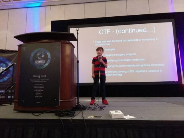 英雄出少年:美国黑客大会Defcon邀请儿童黑客演讲图片 第2张