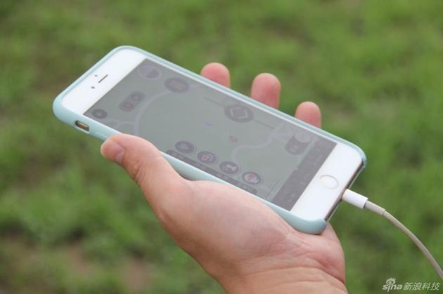 阿凡达模式下用手机控制无人机