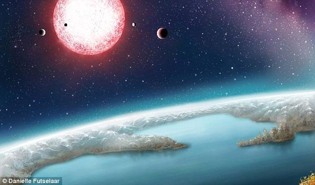 在这份包含20个行星的名单中就包括Kepler-186f,这是一颗在2014年被首次发现的系外行星。凯恩教授等领衔的一个研究小组从4000多颗行星目标中筛选出大约200颗位于宜居带内的系外行星体