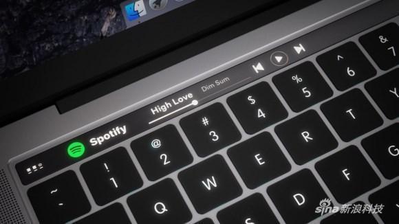 据说加了个触控条的MacBook是这样的