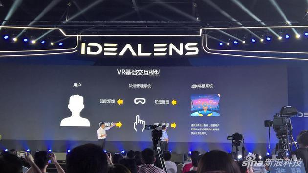 VR一体机 IDEALENS K2发布