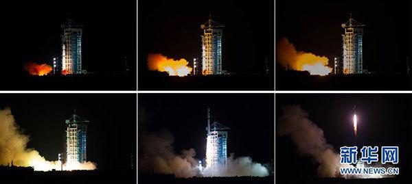 墨子号随长征-2D运载火箭升空,卫星将进入500千米太阳同步轨道