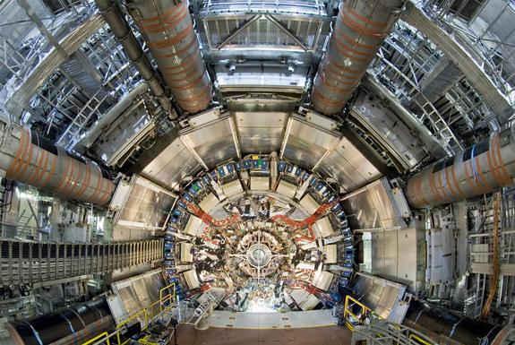 ATLAS探测器是大型强子对撞机中最强大的两台全能探测器之一。