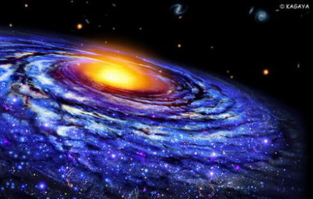 宇宙究竟有多大?(新浪科技配图)