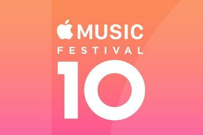 10大明星献艺:苹果Apple Music音乐节迎来10岁生日