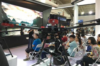 大疆发布了增加变焦功能的灵眸OSMO+ 还带来了VR航拍纪录片