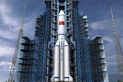 我国首型专用火箭运输船离开天津赴海南文昌