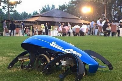 日本团队开发空中汽车 欲令其参与东京奥运会点圣火仪式