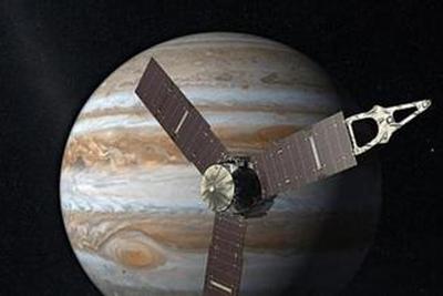 """""""朱诺号""""探测器抵近木点 为太阳系""""巨人""""拍""""写真"""""""
