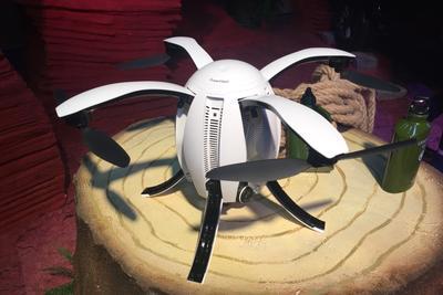 杀入消费级无人机市场 臻迪发布小巨蛋无人机