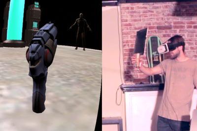 国外玩家自制价值15美元VR设备 效果堪比大牌设备